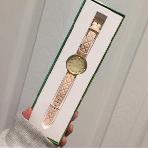 New Kate spade leather band watch